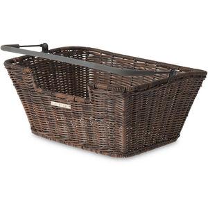 Basil Capri Rattan Look Flex Rear Wheel Basket Bag natur-braun natur-braun