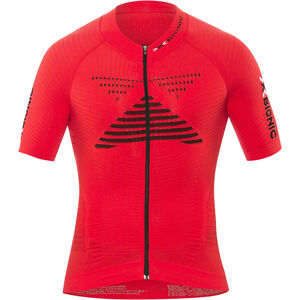 X-Bionic Effektor Power Fahrrad Trikot SS Full-Zip Herren flash red/black flash red/black