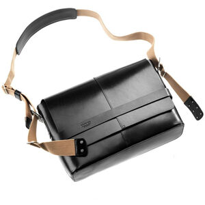 Brooks Barbican Shoulder Bag Leather black bei fahrrad.de Online