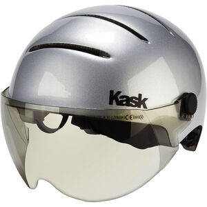 Kask Lifestyle Helm Inkl. Visier argento mattsilber argento mattsilber
