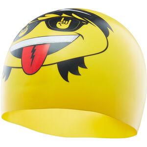 TYR Rocker Swim Cap yellow yellow