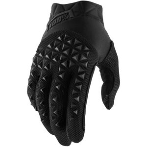 100% Airmatic Gloves Youths Black/Charcoal