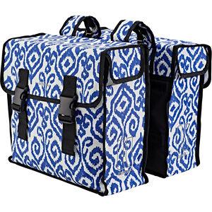 Basil Mara XL Luggage Pannier Double Bag L, 35l indigo ikat indigo ikat
