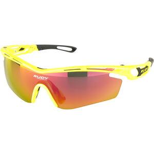 Rudy Project Tralyx SX Glasses Yellow Fluo Gloss/Multilaser Orange bei fahrrad.de Online