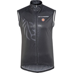 Bioracer Van Vlaanderen Pro Race Wind Vest black black