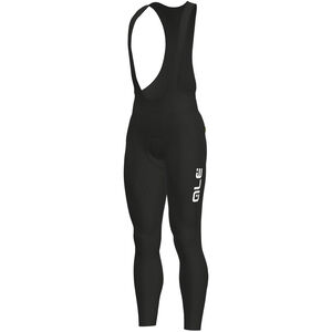 Alé Cycling Solid Winter Bib Tights Herren black-white black-white