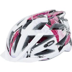 UVEX Air Wing Helmet Kinder white-pink white-pink