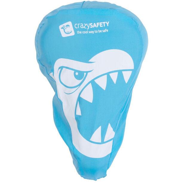 Crazy Safety Saddle cover blau