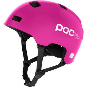 POC POCito Crane Helmet Kinder fluorescent pink fluorescent pink