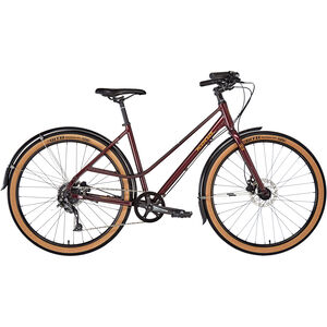 Kona Coco Women matt deep red/metallic gold bei fahrrad.de Online