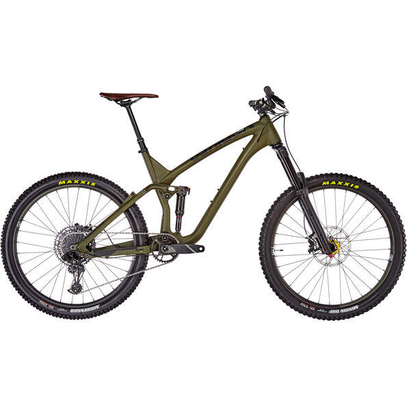 "NS Bikes Snabb 160 Carbon 27,5"" army green"
