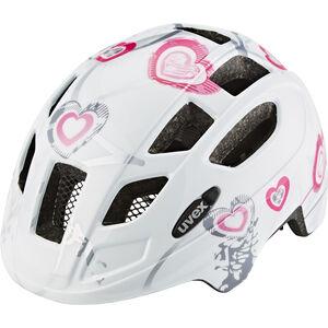 UVEX Finale Helmet Kinder heart white pink heart white pink