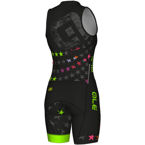 Alé Cycling Long Triathlon Stelle SS Skinsuit Damen