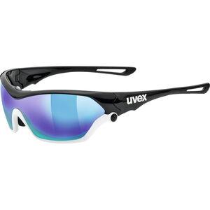 UVEX Sportstyle 705 Sportglasses black white/mirror blue bei fahrrad.de Online
