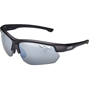 UVEX Sportstyle 115 Sportglasses black mat/silver black mat/silver