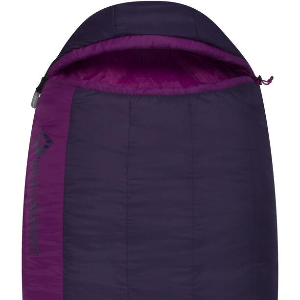 Sea to Summit Quest QuII Sleeping Bag regular Damen blackberry/grape