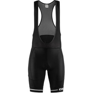 Craft Rise Bib Shorts Men black/white