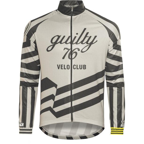 guilty 76 racing Velo Club Pro Race Wind Jacket grey