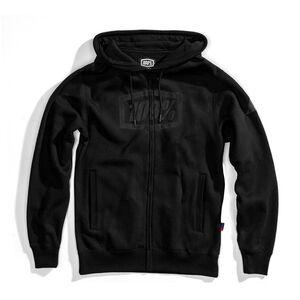 100% Syndicate Full-Zip Hoody Herren black/black foil black/black foil