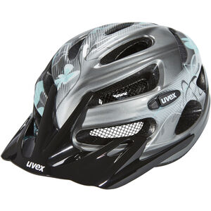 UVEX onyx Helmet Damen dark silver-light blue dark silver-light blue