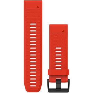 Garmin fenix 5x/3 Silikon Armband QuickFit 26mm red red