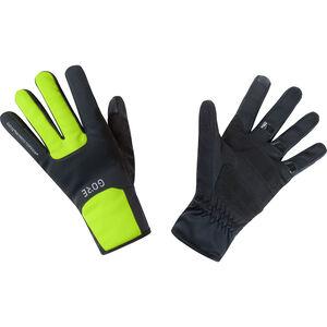 GORE WEAR M Gore Windstopper Thermo Handschuhe black/neon yellow black/neon yellow