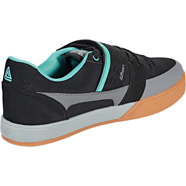 Afton Shoes Vectal Clipless Schuhe Herren black/turquoise