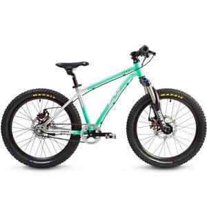 "Early Rider Hellion Trail HT 20"" Kinderrad brushed aluminum/cyan"