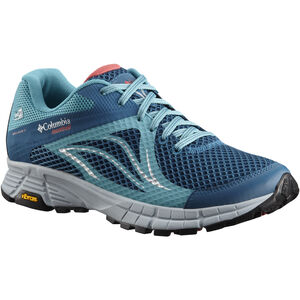 Columbia Mojave Trail II Outdry Shoes Women Phoenix Blue/Sunset Red bei fahrrad.de Online