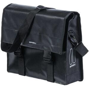 Basil Urban Load Schultertasche 15-17l schwarz/schwarz schwarz/schwarz