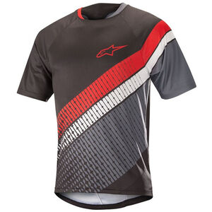 Alpinestars Predator Shortsleeve Jersey Herren black/steel gray/red black/steel gray/red