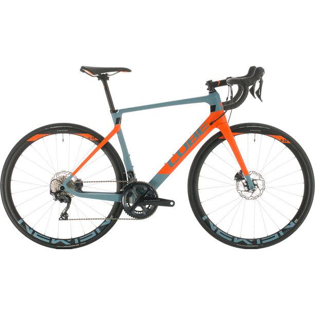 Cube Agree C:62 Race blue grey/orange