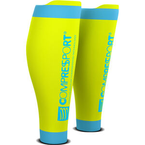 Compressport R2V2 Calf Sleeves fluo yellow fluo yellow