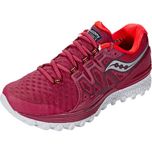 saucony Xodus ISO 2 Shoes Damen berry/coral berry/coral
