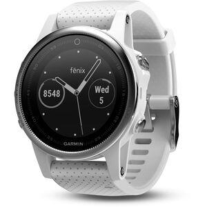 Garmin fenix 5S GPS Multisportuhr mit schwarzem Armband grau grau