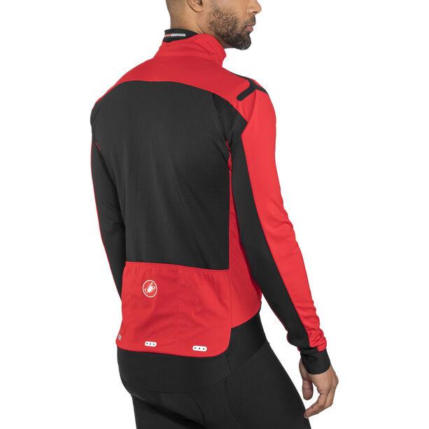 Castelli Alpha Ros Light Jacket Herren red/black