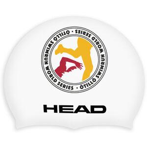 Head ÖTILLÖ Silicon Moulded Swimcap white logo white logo