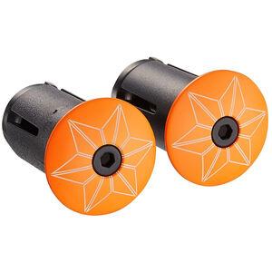 Supacaz Star Plugz Lenkerendkappen neon orange-pulverbeschichtet bei fahrrad.de Online