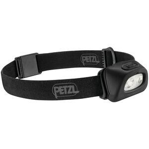 Petzl Tactikka + Stirnlampe schwarz schwarz