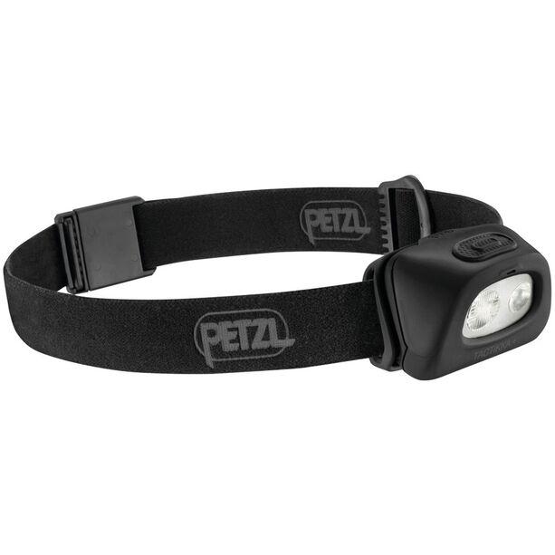Petzl Tactikka + Stirnlampe schwarz