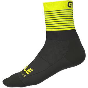 Alé Cycling Piuma Socken Herren black/fluo yellow black/fluo yellow