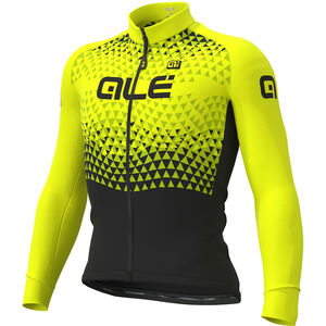 Alé Cycling Solid Summit Jersey Herren black-fluo yellow black-fluo yellow