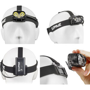 Lupine Blika RX 4 Stirnlampe schwarz schwarz