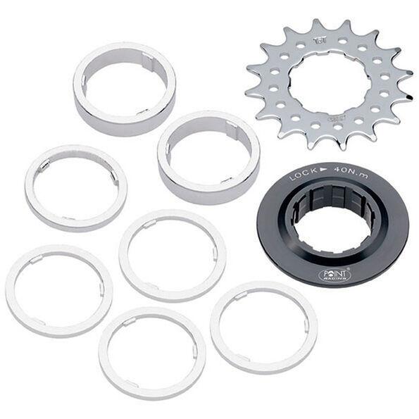 Bike-Parts Single Speed Ritzel Distanzring-Set