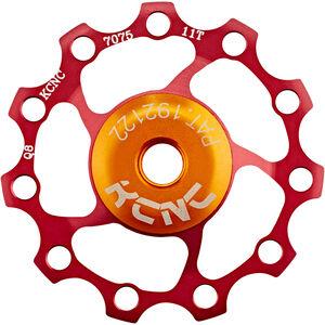KCNC Jockey Wheel 11 Zähne SS Bearing rot rot