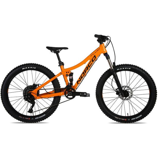 "Norco Bicycles Fluid FS 26"" Jugend orange/blue"