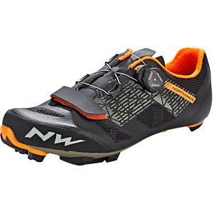Northwave Razer Shoes Herren black/forrest/orange black/forrest/orange