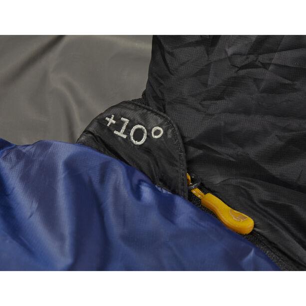 Nordisk Puk +10° Curve Sleeping Bag L true navy/steeple gray/black