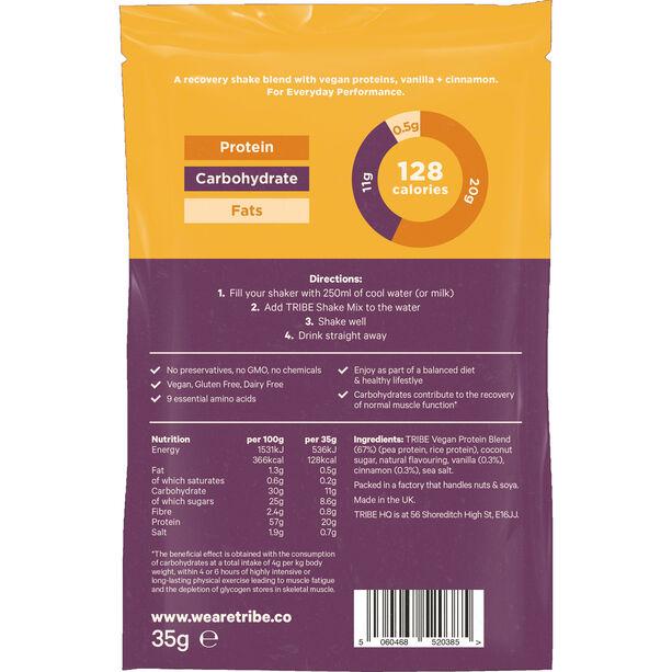 TRIBE Protein Shake Sachet Box 12x35g Vanille/Zimt
