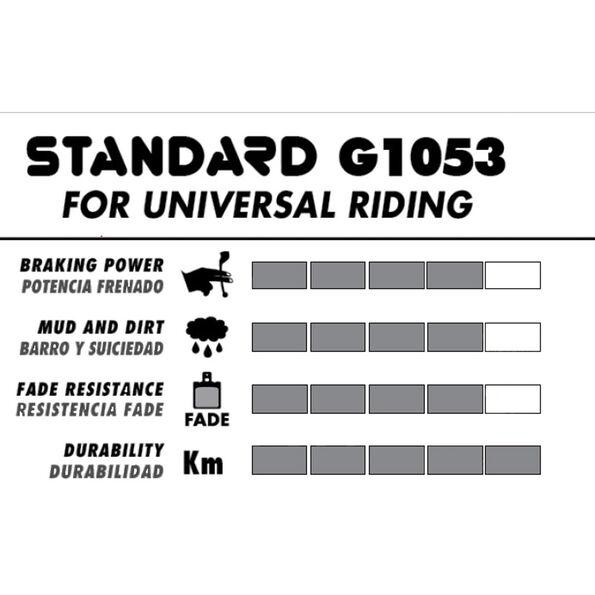 GALFER BIKE Standard Bremsbelag für Shimano Deore XT BR-M755